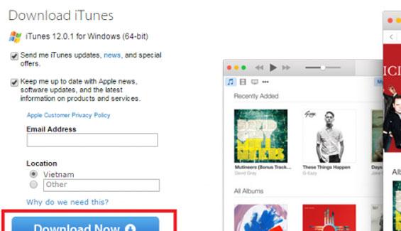 Hướng dẫn cách tải iTunes về máy tính Windows chi tiết