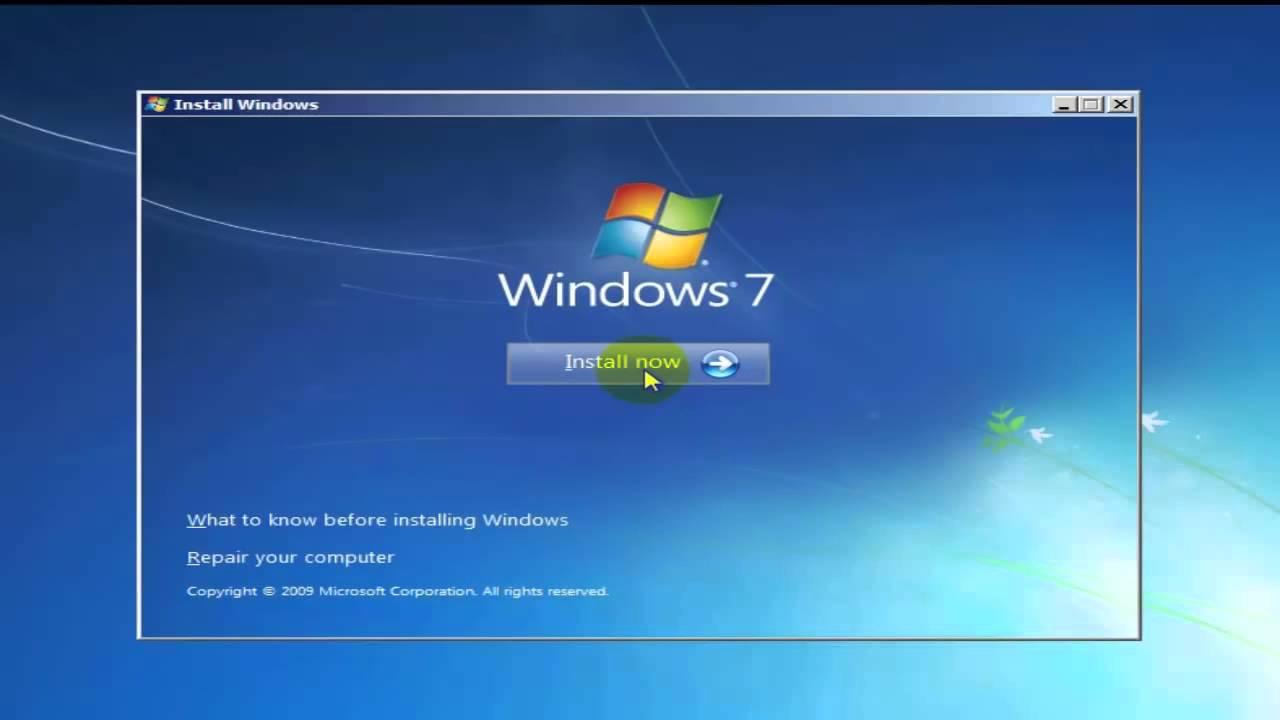 Hướng dẫn cách sửa lỗi khi cài đặt Windows 7 bằng USB