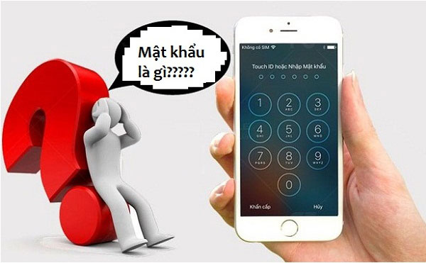 Cách mở khóa iPhone bị quên mật khẩu màn hình
