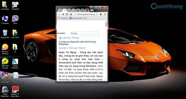 Có thể bạn chưa biết những cách chụp hình desktop tiện lợi này
