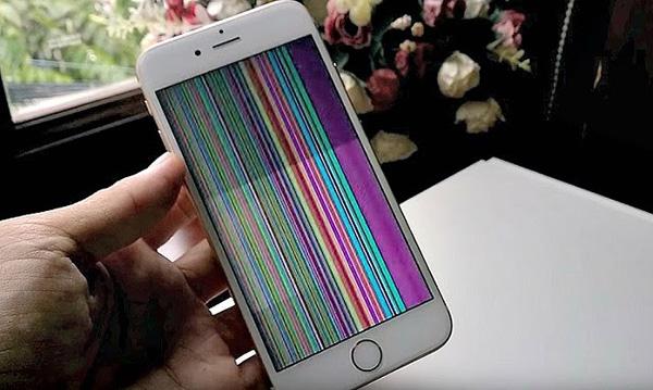 Tổng hợp các lỗi iPhone bị hư màn hình bạn thường gặp phải