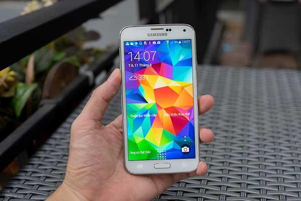 Hướng dẫn fix lỗi Samsung S5 bị giật màn hình