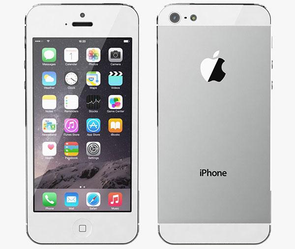 Cần làm gì khi iphone 5 bị mất cảm biến ánh sáng