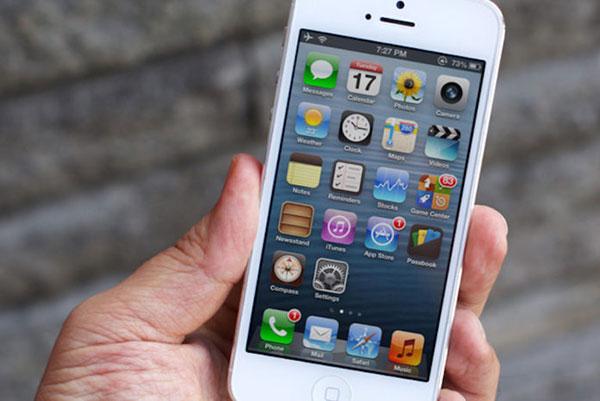 Thủ thuật khắc phục lỗi màn hình iPhone 5 bị giật
