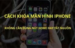 Mở khóa màn hình không cần nút home iOS 10