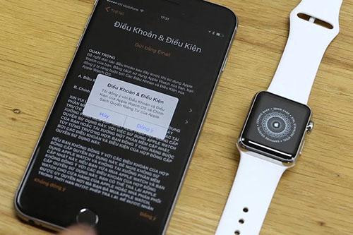 Apple watch seri 1 kết nối với điện thoại