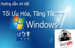 Windows chậm như rùa, đưng lo đã có cách tăng tốc Win 7