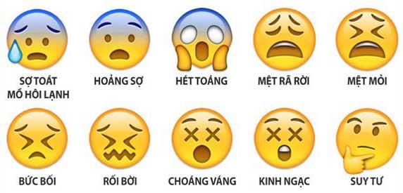 biểu tượng cảm xúc trên zalo