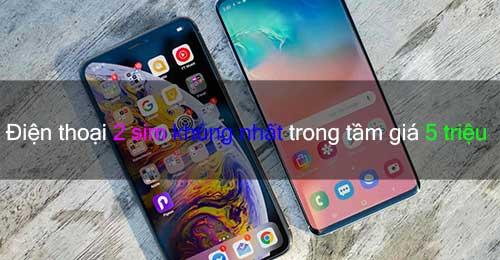 Điện thoại 2 sim dưới 5 triệu